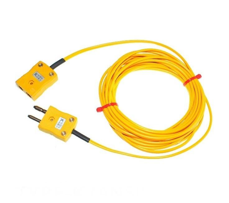 PVC isolé câble / fil Thermocouple bouchons & douilles ANSI
