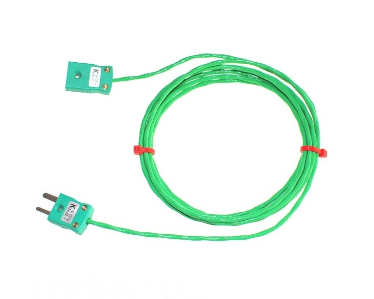 PFA insulated Cable / Wire with MINIATURE Thermocouple Plugs & Sockets IEC