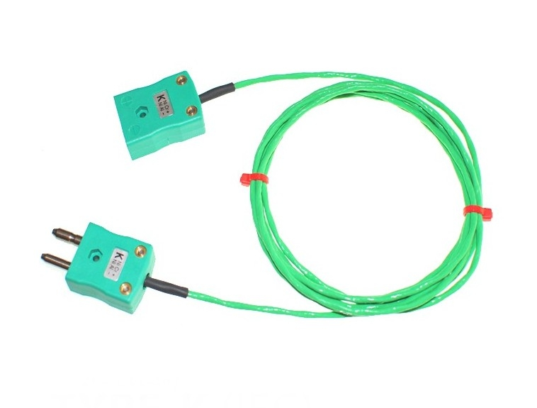 PFA insulated Cable / Wire with STANDARD Thermocouple Plugs & Sockets IEC