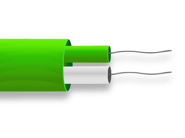 PFA paire plat Thermocouple câble / câble IEC