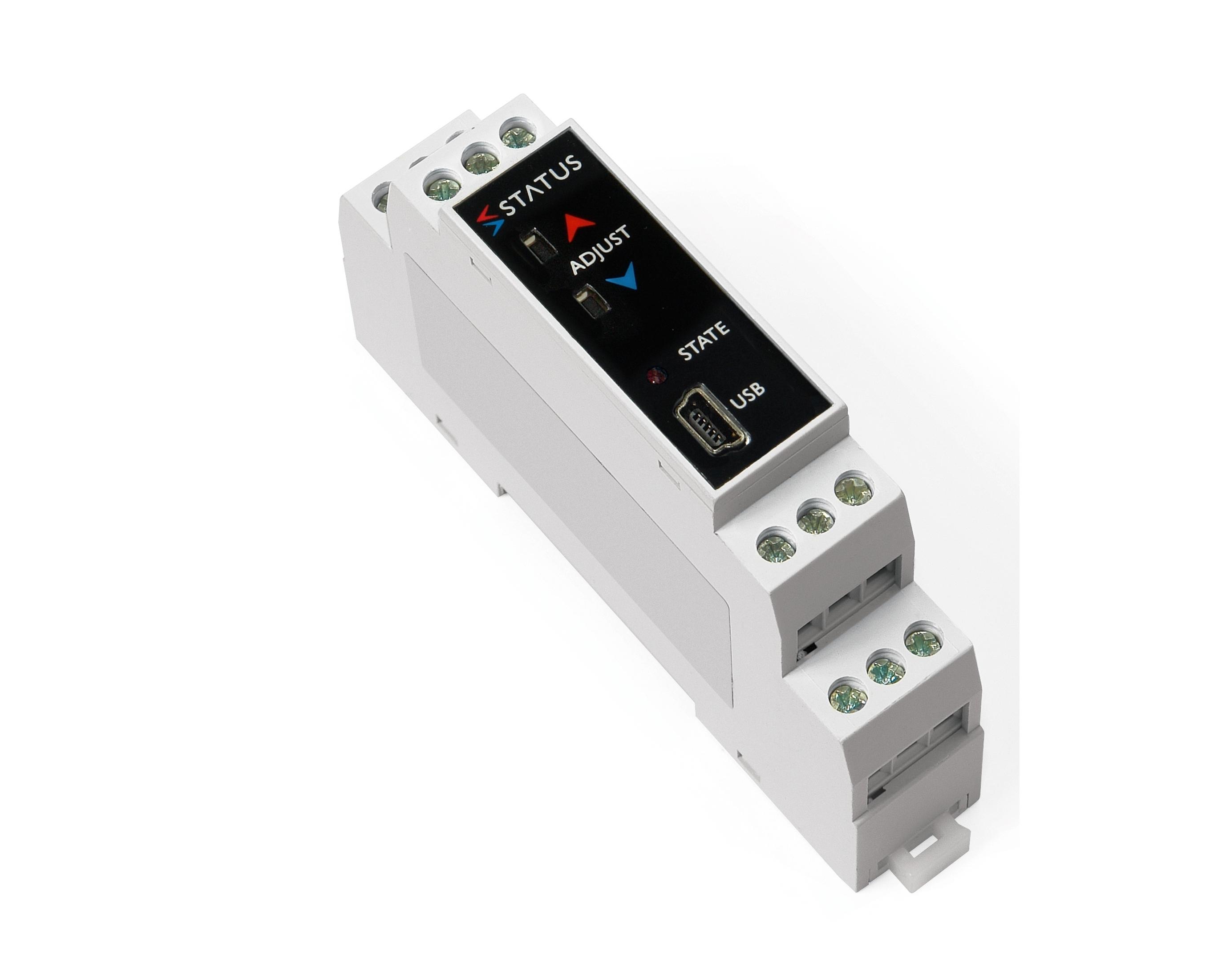SEM213TC pousser un bouton Thermocouple DIN rail temp émetteur