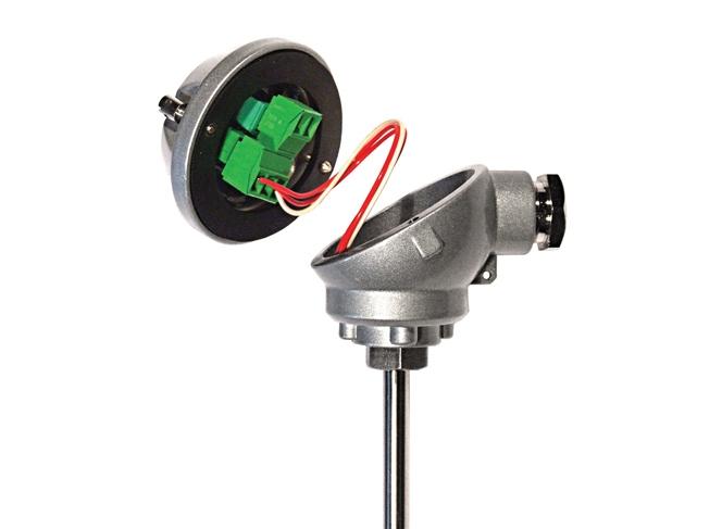 HTR200 Miniature en tête de RDT / transmetteur de température Slidewire