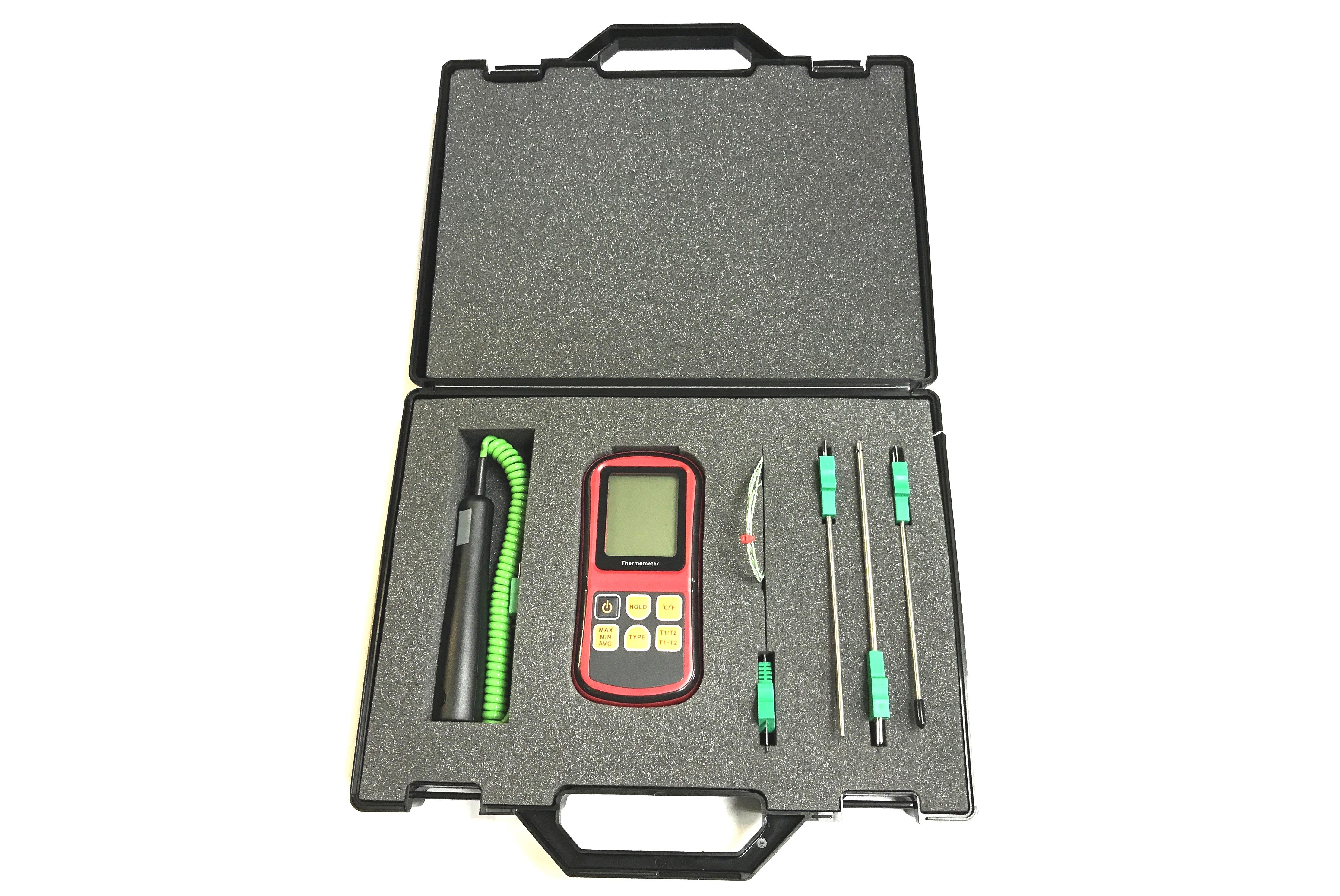 Kits de thermocouple avec compteur & sondes