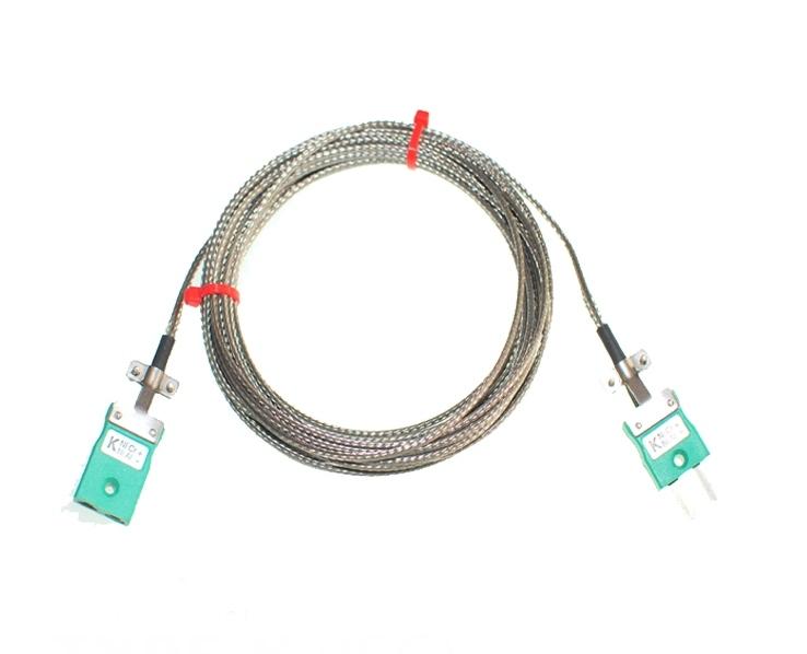 Fibre de verre isolation câble / fil Thermocouple fiches et douilles de CEI