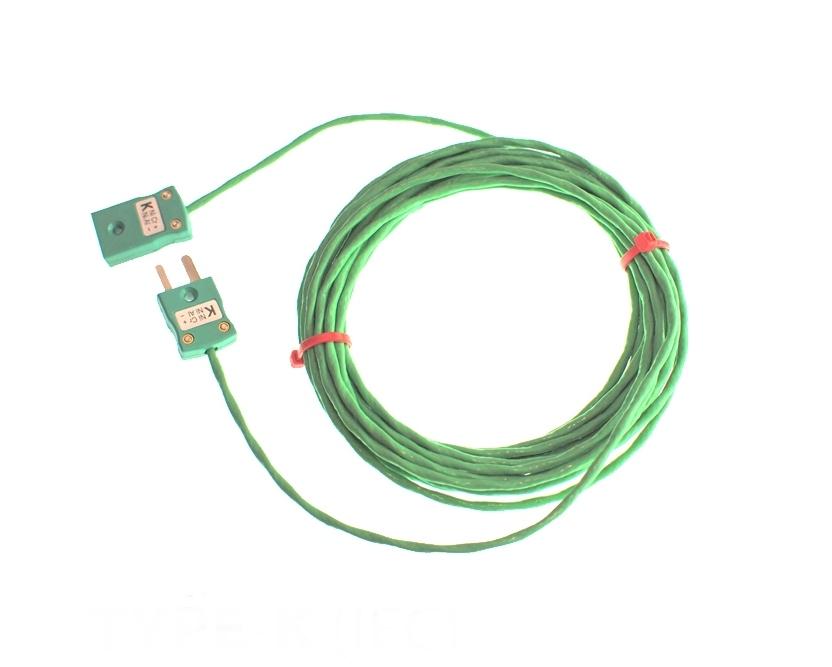 Isolé PFA câble / fil Thermocouple bouchons & prises IEC