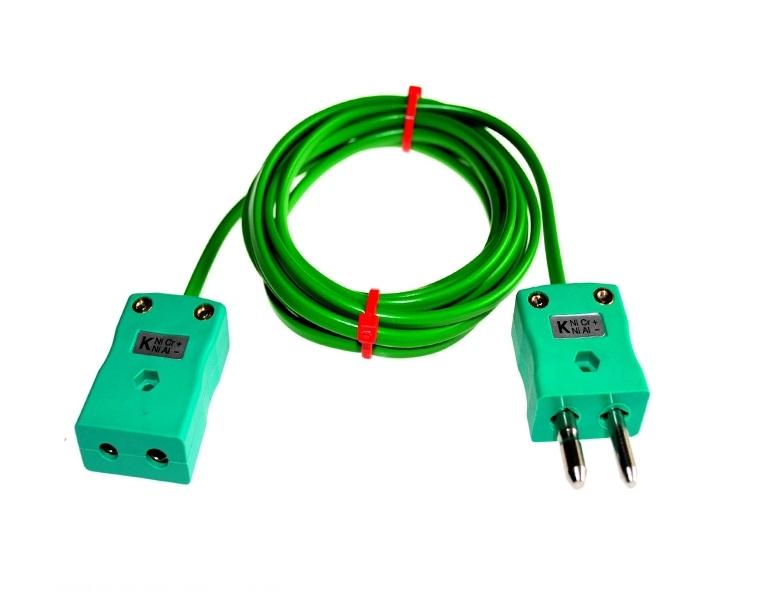 PVC isolé de câble / fil Thermocouple bouchons & prises IEC