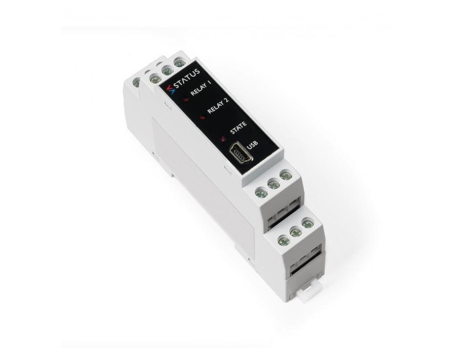 SEM1633 Relais double voyage amplificateur pour RTD et capteurs Slidewire