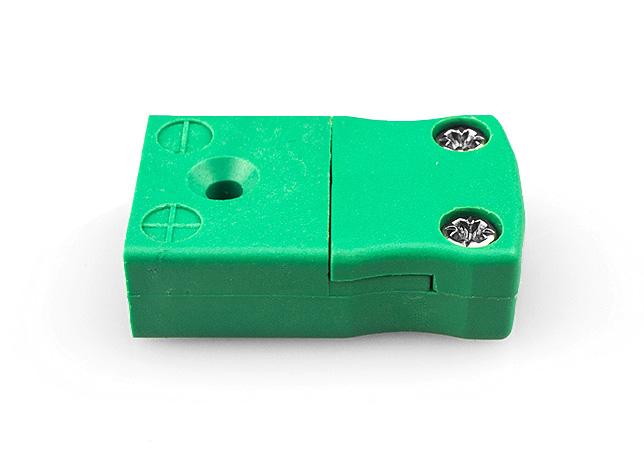 Thermocouple de miniature en ligne prise IEC