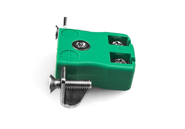 Montage sur panneau miniature fils rapide avec support en acier inoxydable IEC