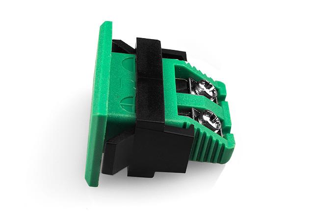 Miniature rectangulaire Fascia prise IEC