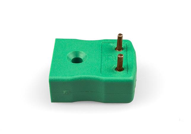 PCB montage Thermocouple prise IEC en laiton ou étain plaqué épingles
