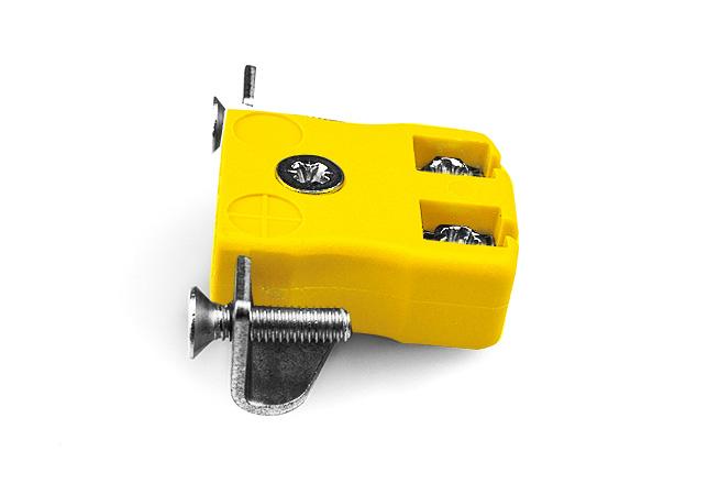 Montage sur panneau miniature fils rapide avec support en acier inoxydable ANSI