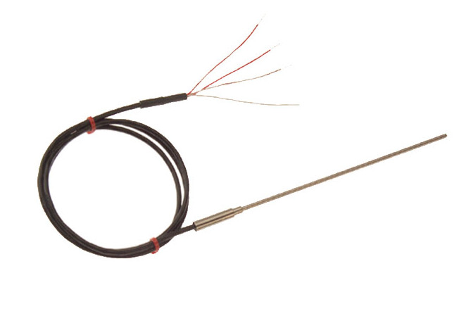 Sonde Pt100 avec rallonge à isolant minéral
