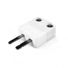Miniature haute température (650° C) fiche du Thermocouple en céramique AM-T-M-HTC Type T ANSI