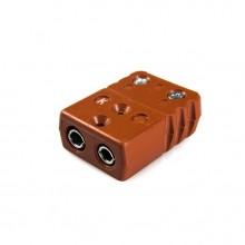 Haute température Thermocouple Standard connecteur prise STC-J-F-HTP Type J