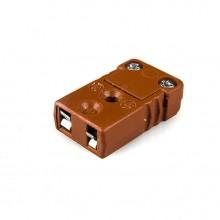 Type de MTC-J-F-HTP Socket pour Thermocouple Miniature haute température connecteur J