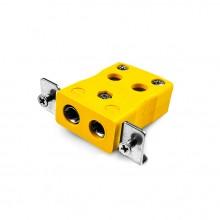 Montage sur panneau standard de câblage rapide avec acier inoxydable Type de support AS-K-SSPFQ K ANSI