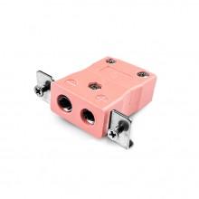 Connecteur Thermocouple montage panneau standard avec acier inoxydable support est-N-SSPF Type IEC N
