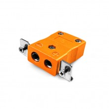 Connecteur Thermocouple montage panneau standard avec acier inoxydable support est-R/S-SSPF Type R/S CEI