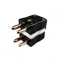 Thermocouple standard connecteur fiche recto verso Type FSTC-CU-MD Cu