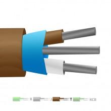 Type T PVC isolé Mylar Thermocouple câble blindé / fil (IEC)