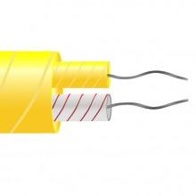 Fibre de verre type K isolé plat paires de câble / fil (ANSI)