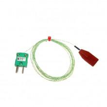 Thermocouple Patch silicone avec Miniature prise Type K CEI