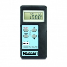 MicroCal 1 Plus simulateur thermomètre (Types K, J, T, R, N, S, E)