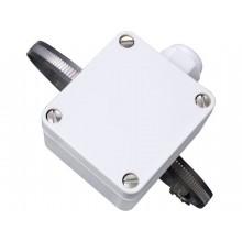 Communiquant avec capteur de température avec bande de serrage