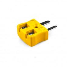 Miniature fil rapide connecteur Plug JM-J-MQ du Type de Thermocouple J JIS