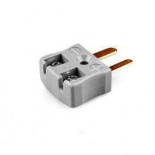 Miniature rapide fil Thermocouple connecteur fiche JM-B-MQ Type B JIS