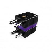 Thermocouple standard Thermocouple Duplex connecteur fiche E-JS-MD Type JIS E