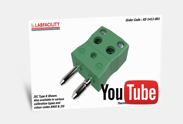 3D Animation of Standard IEC Thermocouple Connector Quickwire Plug