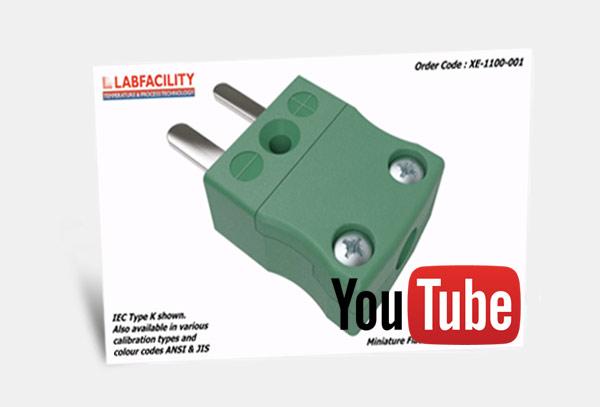 3D Animation of Miniature IEC Thermocouple Connector Plug